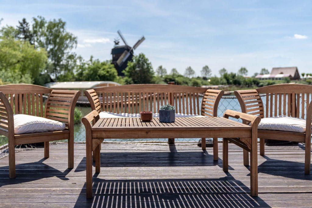 Erlebnisdorf Elbe Parey Strandhaus am See Entspannung