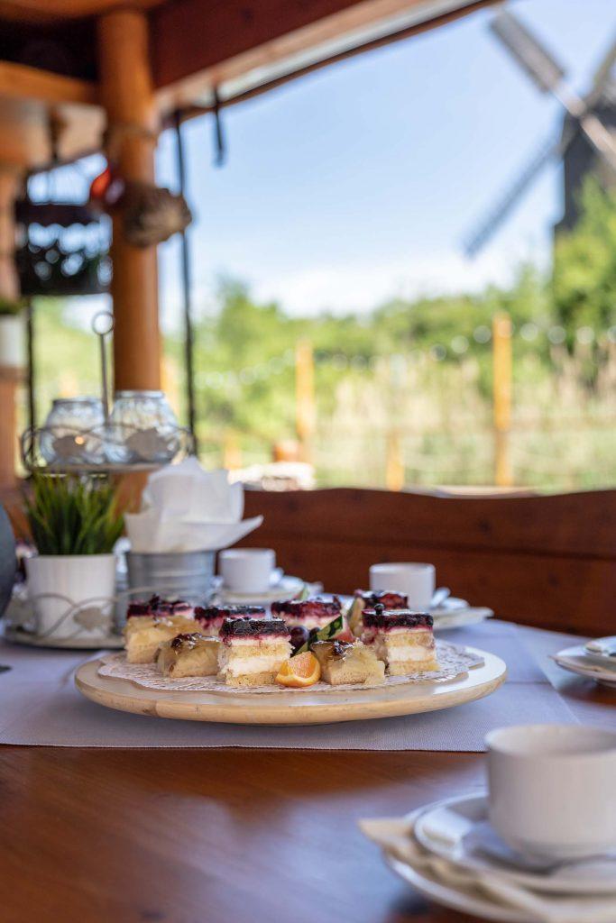Erlebnisdorf Elbe Parey Hochzeits Dessert