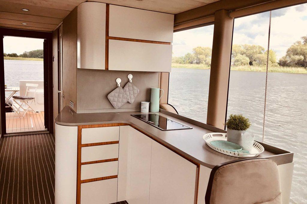 Hausboot Küche